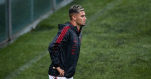 Flamengo's Andreas Pereira