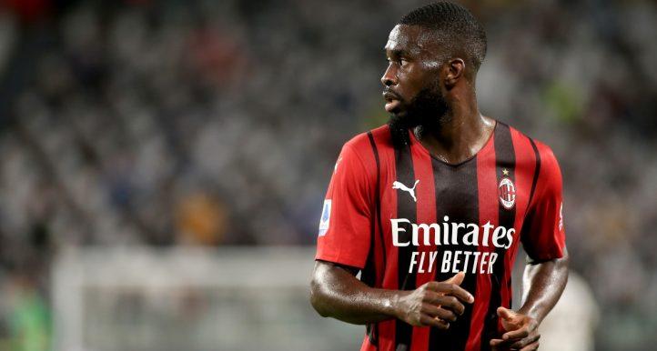 AC Milan defender Fikayo Tomori, September 2021.