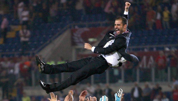 Pep Guardiola 2009 Champions League Final