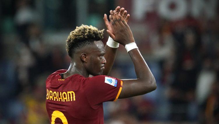 Roma striker Tammy Abraham