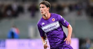 Fiorentina's Dusan Vlahovic