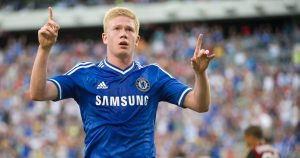 Kevin De Bruyne during his time at Chelsea