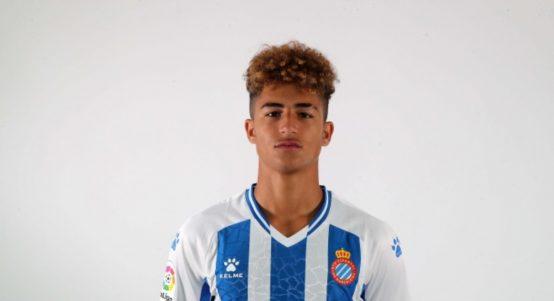 Espanyol striker Mateo Fernandez