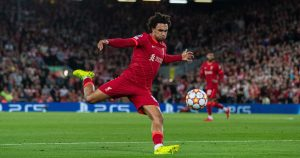 Liverpool right-back Trent Alexander-Arnold
