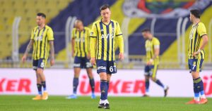Former Arsenal playmaker Mesut Ozil playing for Fenerbahce