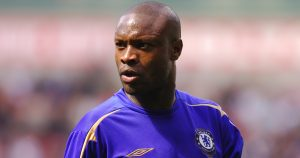 William Gallas playing for Chelsea.