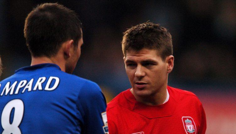 Liverpool's Steven Gerrard and Chelsea's Frank Lampard