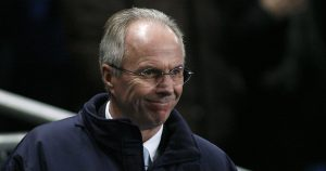 Manchester City manager Sven Goran Eriksson, January 2008.