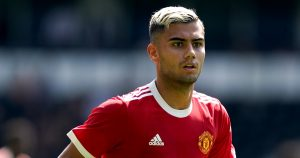 Manchester United's Andreas Pereira