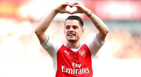Arsenal midfielder Granit Xhaka