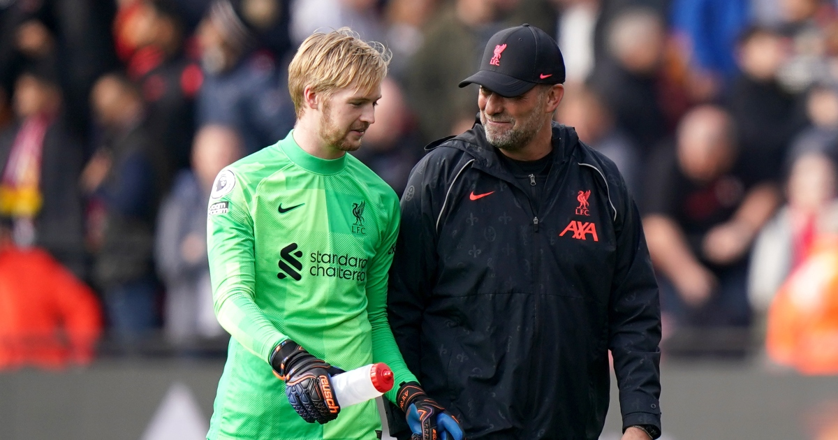 Watch: Caoimhin Kelleher preserves Liverpool clean sheet with great save - Planet Football