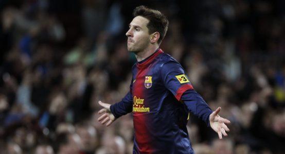Barcelona record breaker Lionel Messi