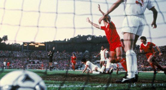 Phil Neal Scoring 1984 European Cup Final