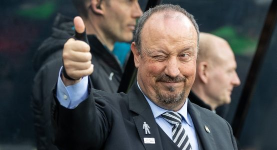 Rafael Benitez during his time in charge of Newcastle United