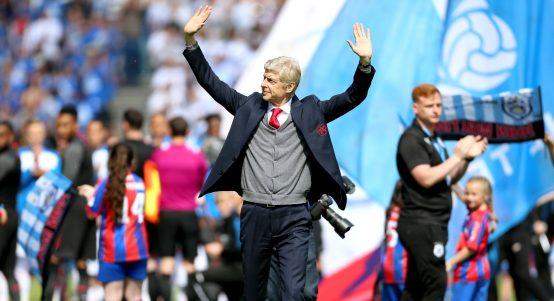 Arsene Wenger Final Match Arsenal