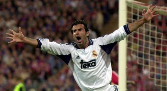 Real Madrid's Luis Figo