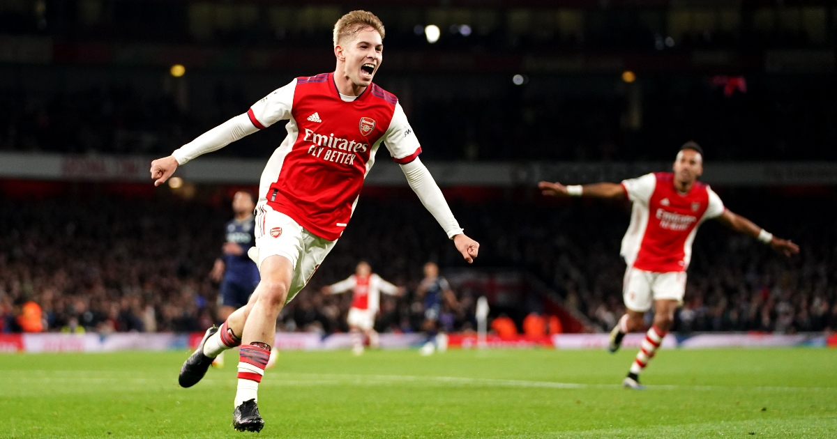 Eight impressive stats from Smith Rowe's superb display vs Aston Villa - Planet Football