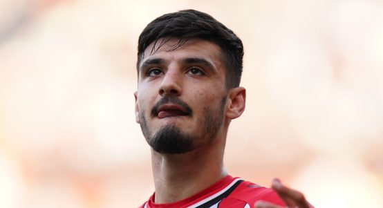 Southampton striker Armando Broja