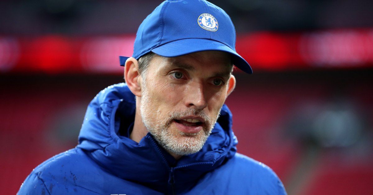 Watch: Chelsea boss Tuchel dinks ball perfectly onto moving buggy - PlanetFootball