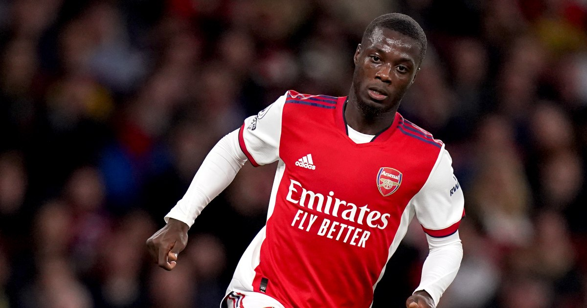 Watch: Arsenal's Nicolas Pepe falls flat on his face attempting skill - Planet Football